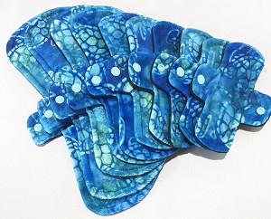 Sea Turtles Minky Pads with Fleece backs - Pick Your Size!